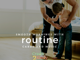 Smooth Mornings with Routine Cards and Music