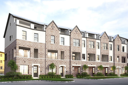 Las Colinas Station InTown Homes townhomes
