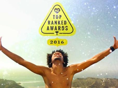 SNAP RENTALS TOP RANKED NZ AWARDS 2016 RENTAL CARS FINALIST