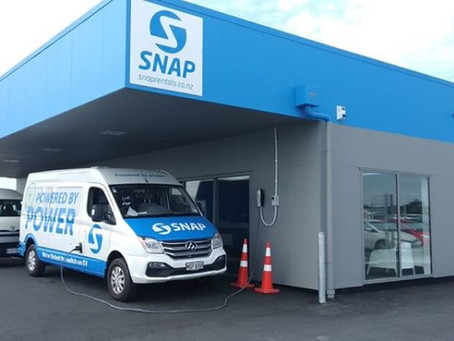 SNAP OFFERS INDUSTRY FIRST 100% EV SHUTTLE TRANSFER VANS...