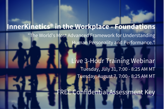 InnerKinetics® in the Workplace - Foundations - Upcoming Training Webinar