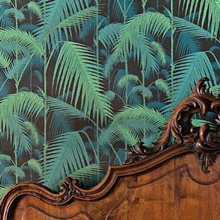 Love this wallpaper #interiordesign