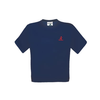 Logo-Only Tee Navy