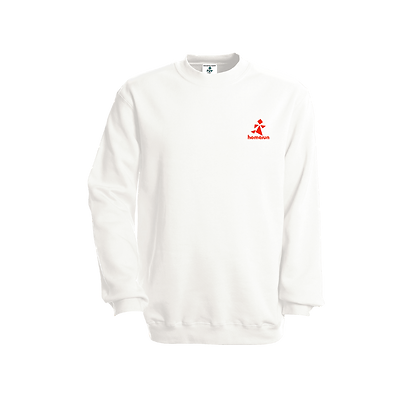 Logo-Only Sweater White