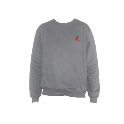 Logo-Only Sweater Ash