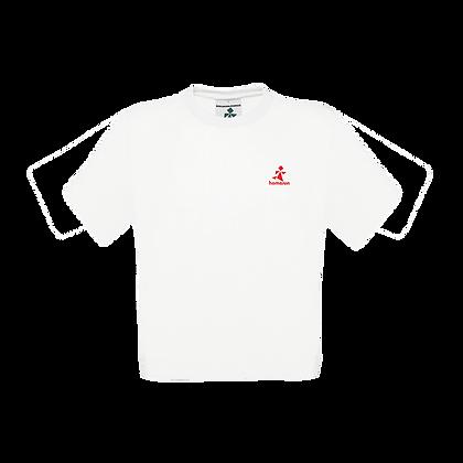 Logo-Only Tee White