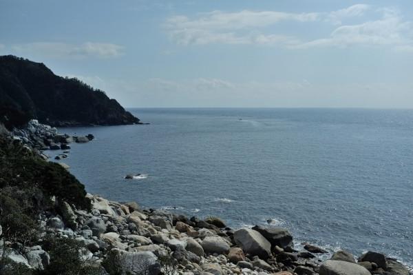 屋久島から東シナ海の展望