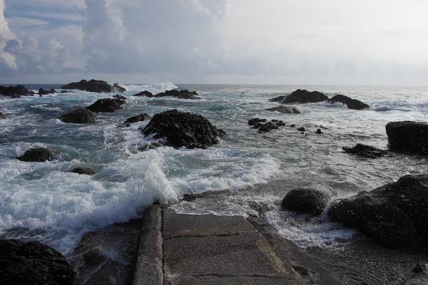 屋久島里の観光ツアー風景