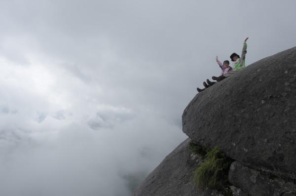 白谷雲水峡ガイドツアー風景