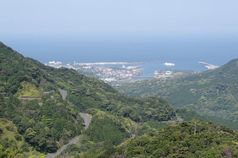 屋久島宮之浦地区風景写真