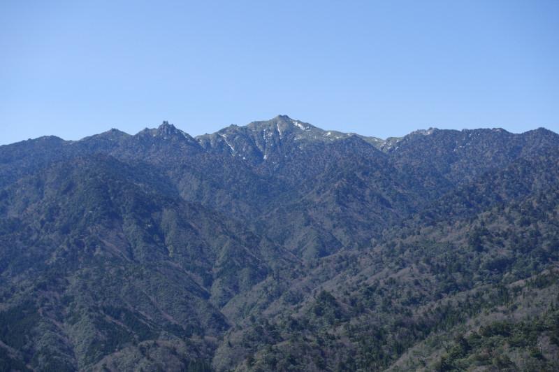 白谷雲水峡太鼓岩からの景色