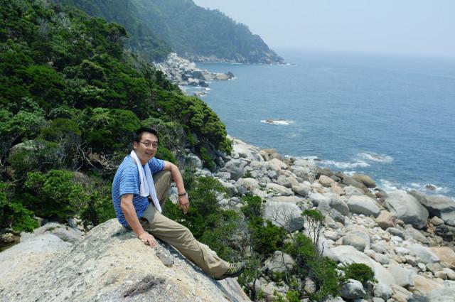 屋久島西部地区大岩展望