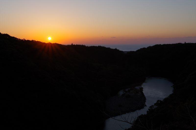 屋久島日の出写真