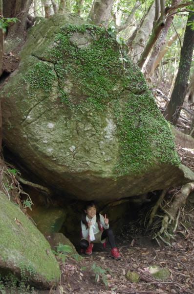 屋久島大岩