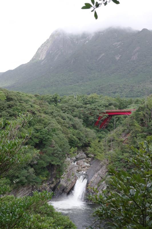 屋久島トローキの滝