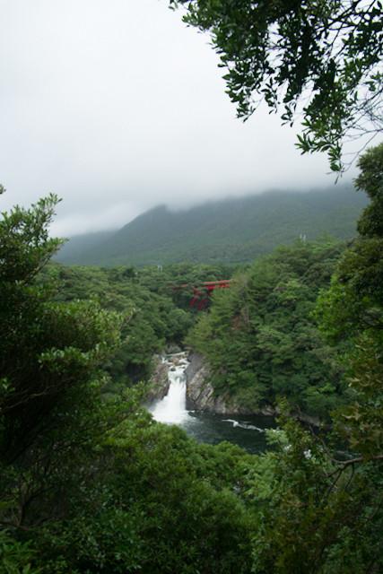 屋久島の観光地、トローキの滝