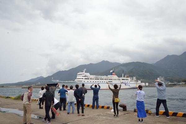 フェリー屋久島2旅情の乗り物