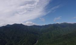 屋久島太鼓岩からの風景