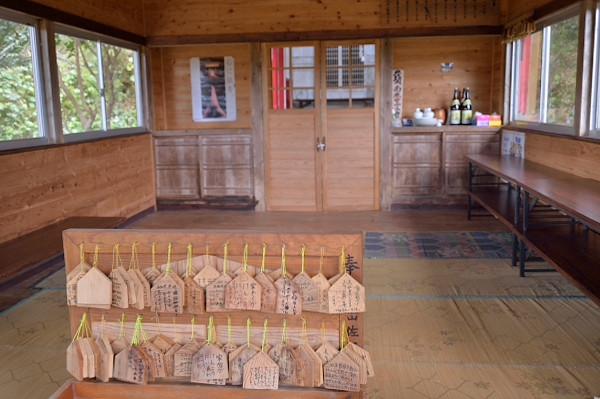 屋久島船行神社の絵馬