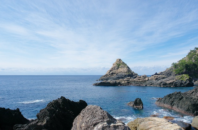 屋久島 立神岩