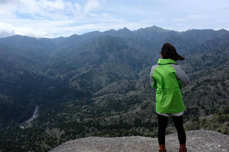 太鼓岩、白谷雲水峡