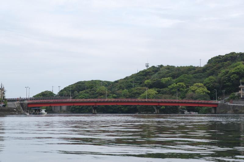 屋久島安房川のまんてん橋