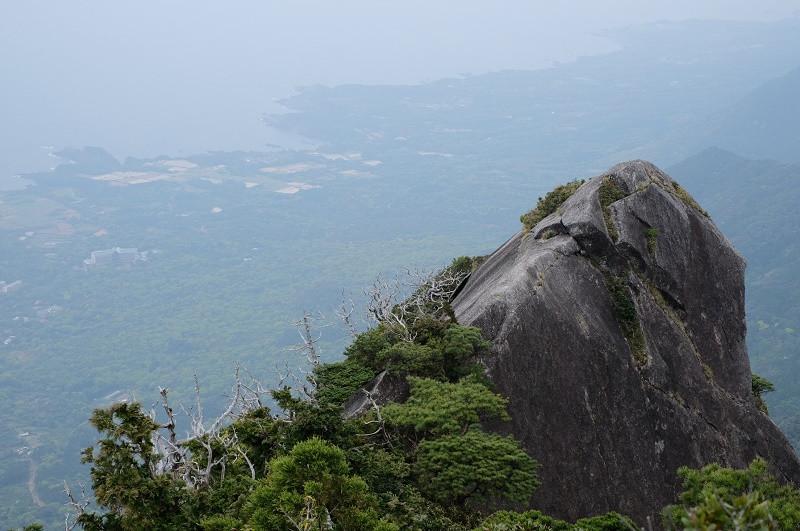 屋久島モッチョム岳からの展望