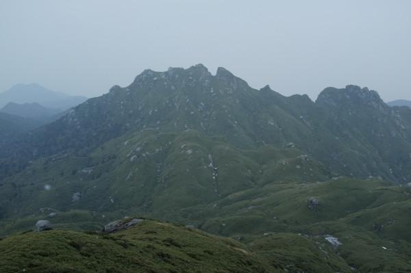 屋久島永田岳