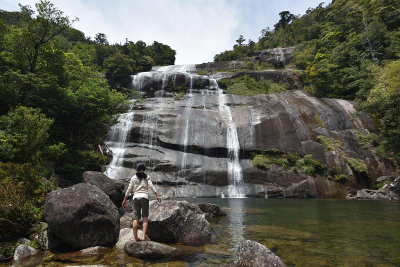 屋久島蛇之口の滝