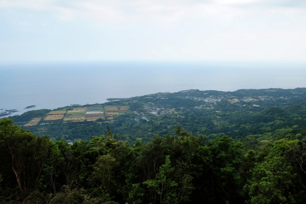 屋久島原集落の展望