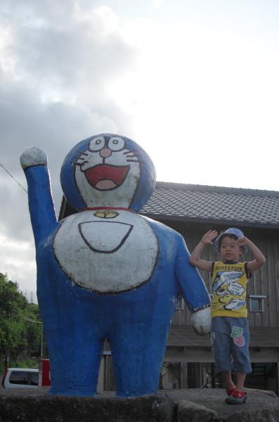 屋久島の観光スポットドラえもん