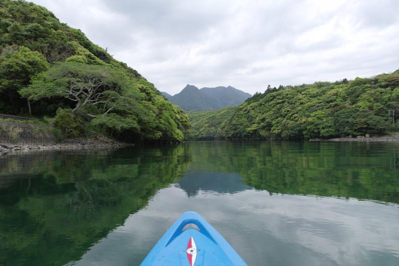 屋久島新緑に包まれながらのカヌーツアー