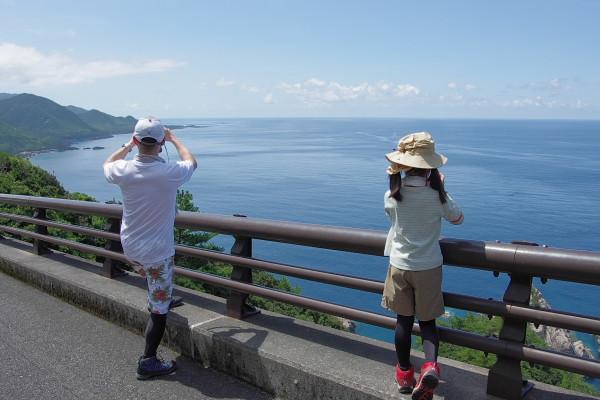屋久島里の観光風景