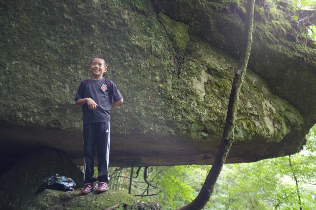 屋久島白谷雲水峡の辻の岩屋