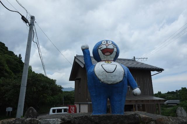 屋久島の観光地、ドラえもん