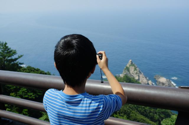 屋久島里地の観光地立神岩