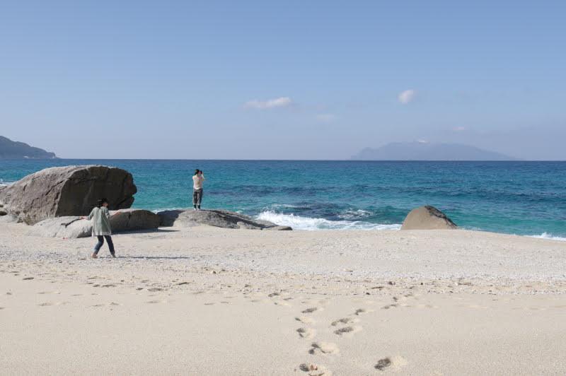 屋久島秘密の砂浜