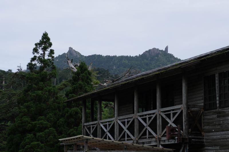屋久島ヤクスギランドからの太忠岳の天柱石