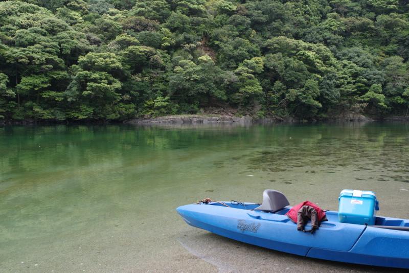 屋久島新緑とリバーカヤック
