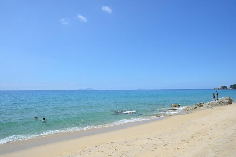 ウミガメの産卵地、屋久島いなか浜