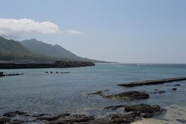 屋久島栗生の海