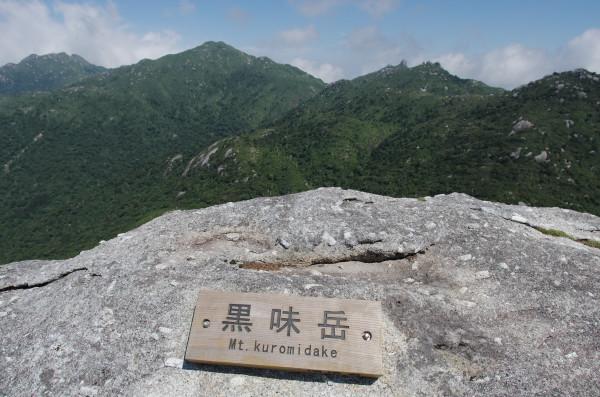 屋久島登山ガイドツアー風景