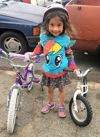 bicycle donation photo