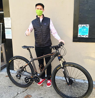 Customer with Bike