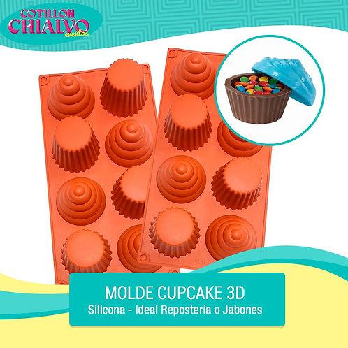 Molde Cupcake de Silicona