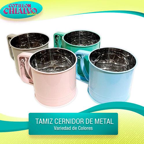 Tamiz metal