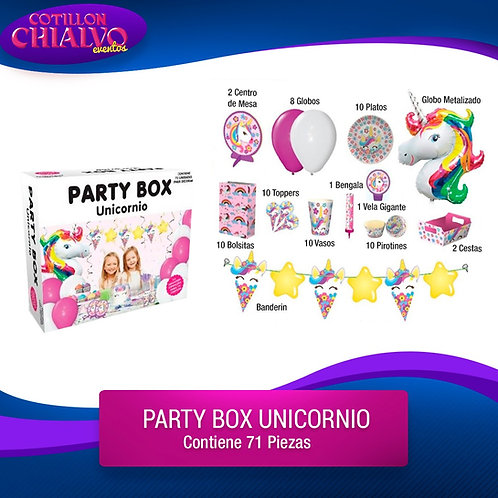 Party Box varios modelos
