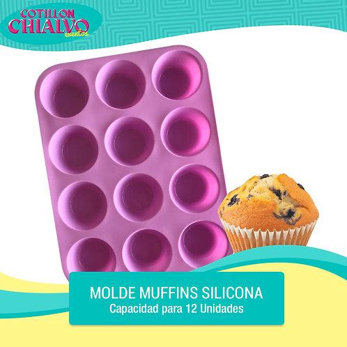 Molde muffins 12u