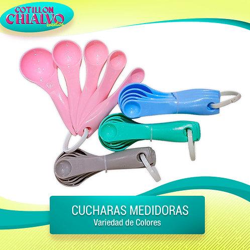 Cucharitas Medidoras color Pastel