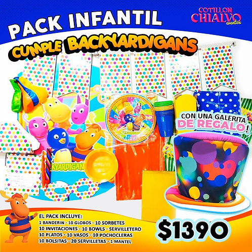 Backyardigans pack + galera de regalo